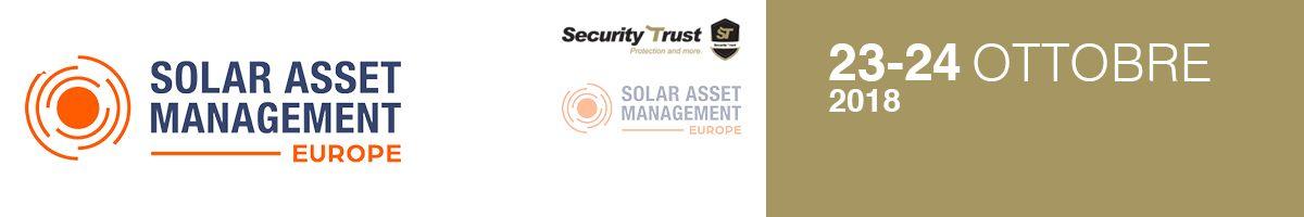 Security Trust Gold Member di Solar Asset Management Europe 2018