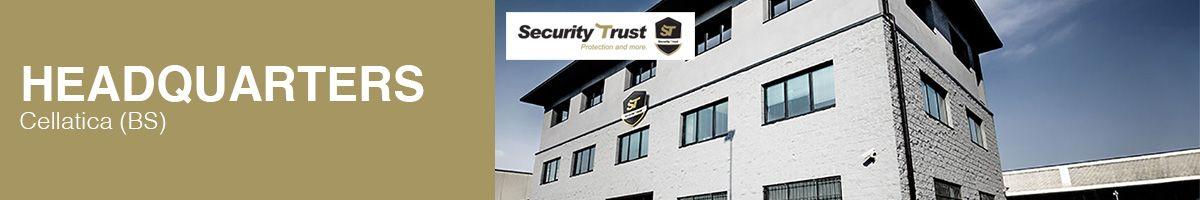 La sede centrale e amministrativa di Securit Trust a Cellatica (BS)